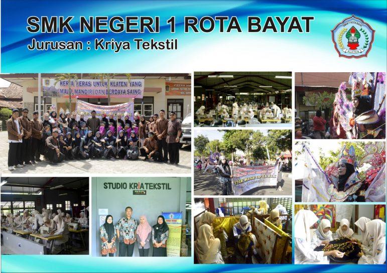 Foto Jurusan Kriya Tekstil SMKN 1 ROTA BAYAT
