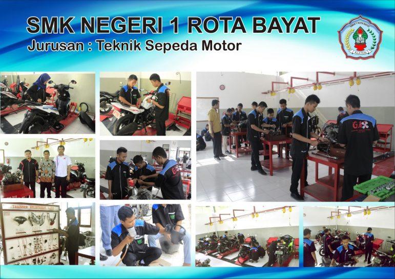 Foto Jurusan Teknik Sepeda Motor SMKN 1 ROTA BAYAT